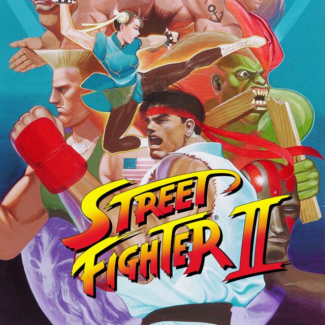 ストリートファイターII(スーパーファミコン)