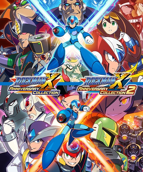 ROCKMAN X ANNIVERSARY COLLECTION + ROCKMAN X ANNIVERSARY COLLECTION2